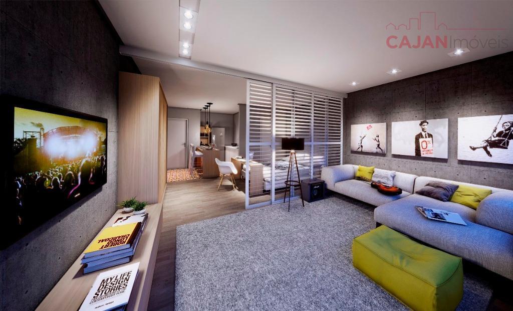Em construção - Apartamento tipo Studio com vaga de garagem no Jardim  Botânico
