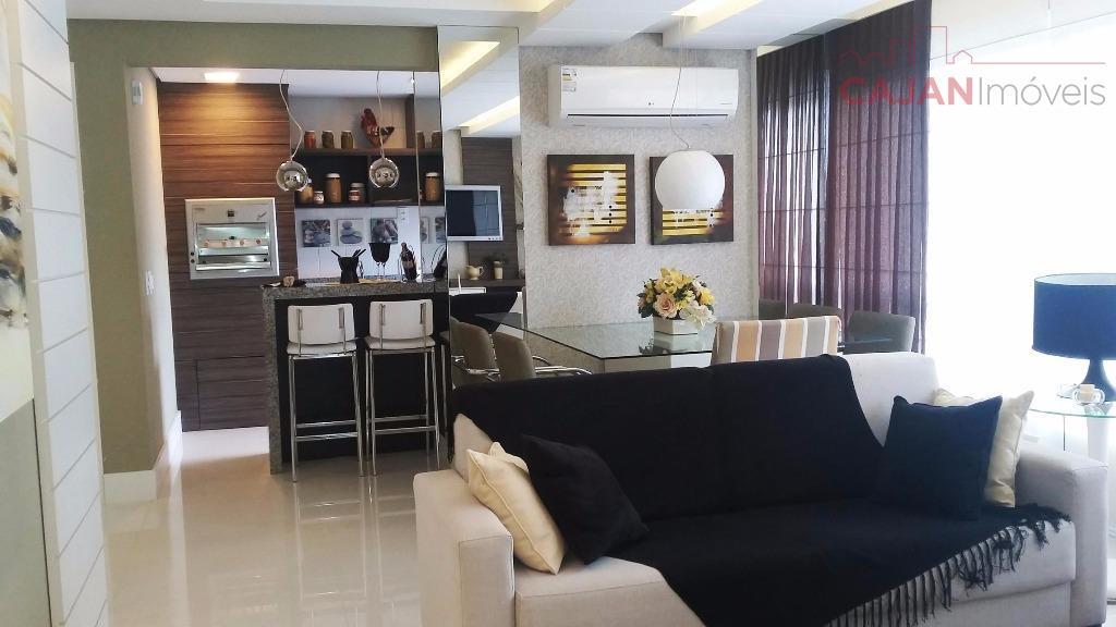 Novo, Pronto - Apartamento de 2 dormitórios com 2 vagas em Petrópolis