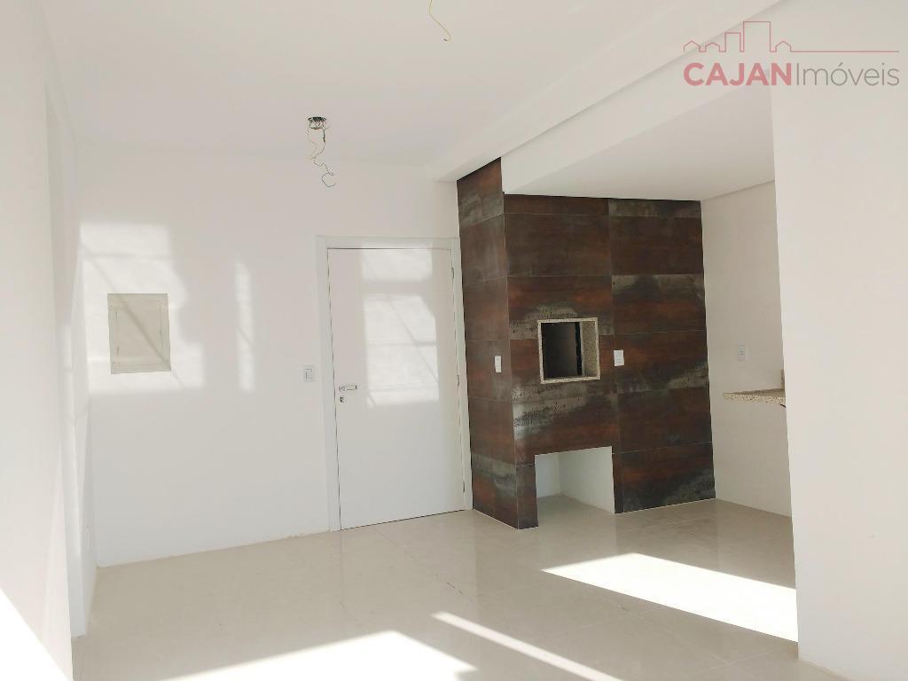 NOVO - PRONTO - Apartamento de 1 dormitório com 1 vaga de garagem e depósito no bairro Santana
