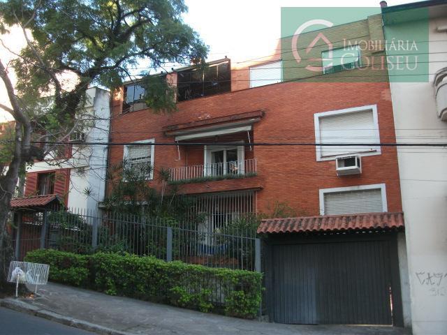 Cobertura residencial para locação, Rio Branco, Porto Alegre.