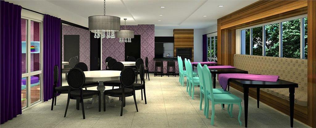 Novo, Pronto - Apartamento com  2 dormitórios e 1 vaga de garagem no bairro Petrópolis