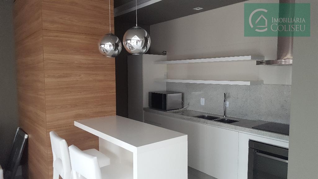 empreedimento top de poa. 2 dormitórios ambos suítes, lavabo. sacada, churrasqueira, 1 vaga coberta.área do terreno...