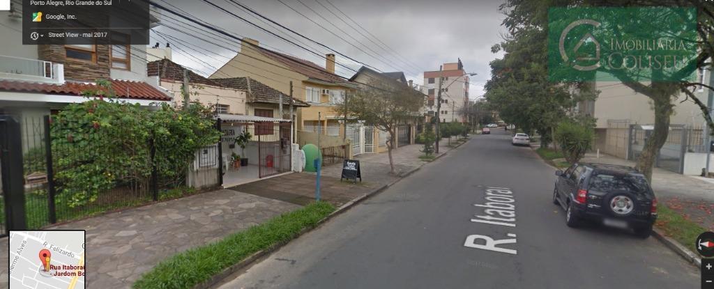 excelente terreno na rua itaboraí com 11metros de frente por 31,2m de fundos totalizando 343m². as...