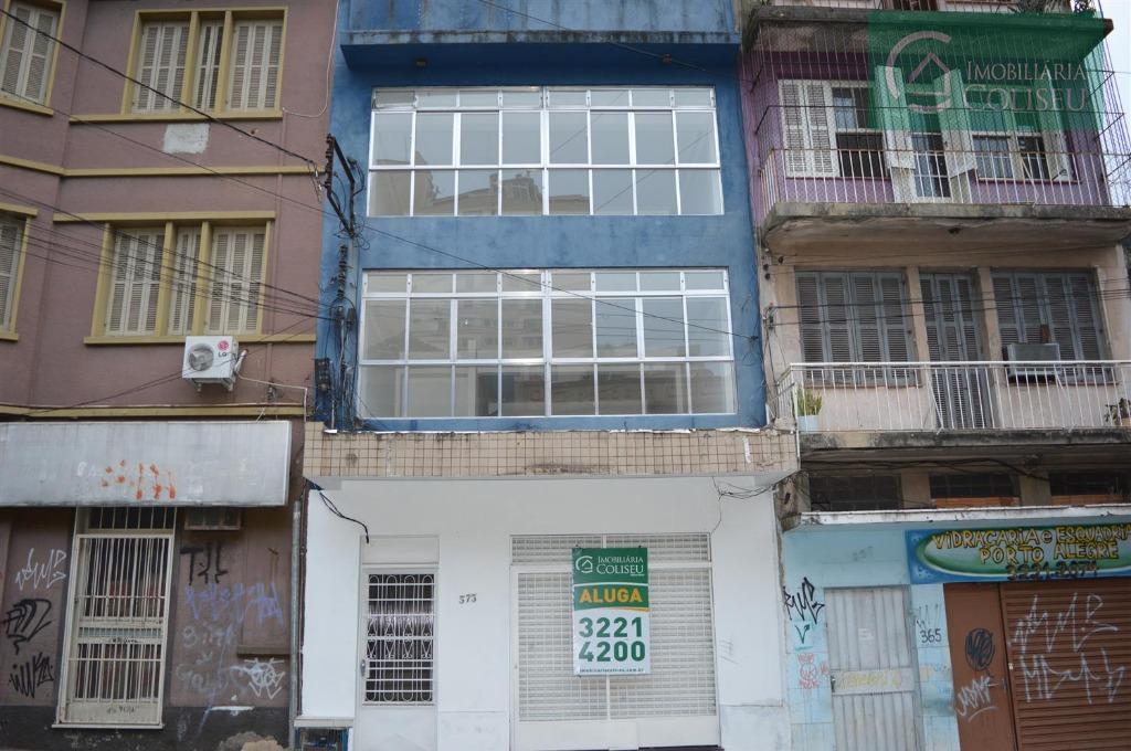 Prédio comercial para locação, Floresta, Porto Alegre.