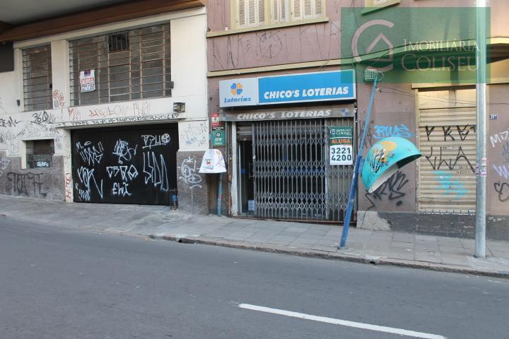 Loja comercial para locação, Floresta, Porto Alegre.