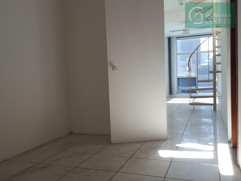 sala com 101m² privativos ao lado do clube união da quintino bocaiuva. cobertura, 01 banheiro, portaria...