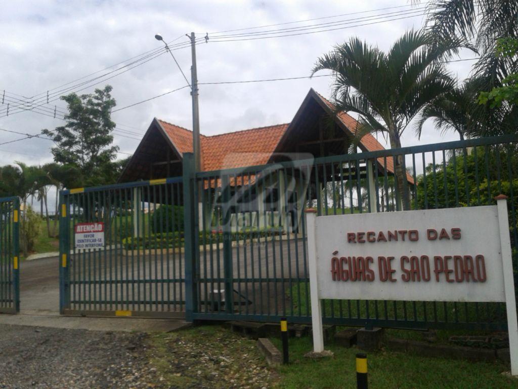 Terreno residencial à venda, Recanto das Águas, São Pedro.