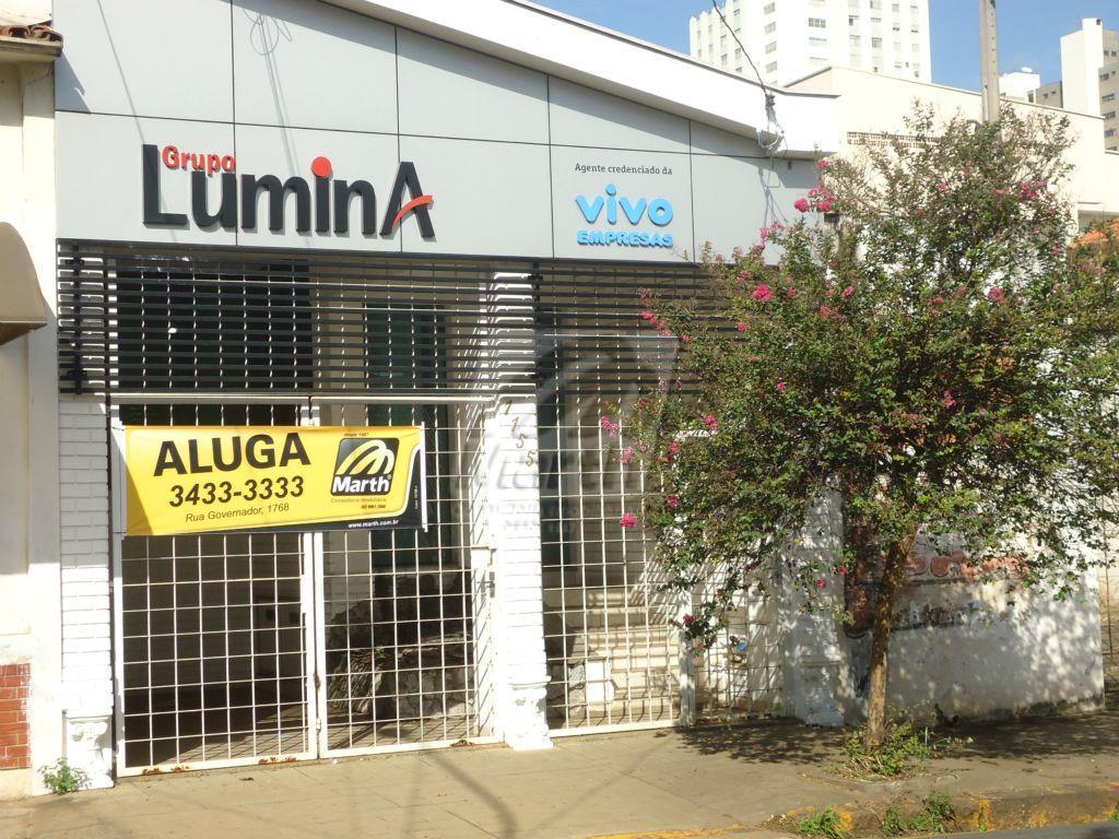 Casa  comercial para locação, Centro, Piracicaba.