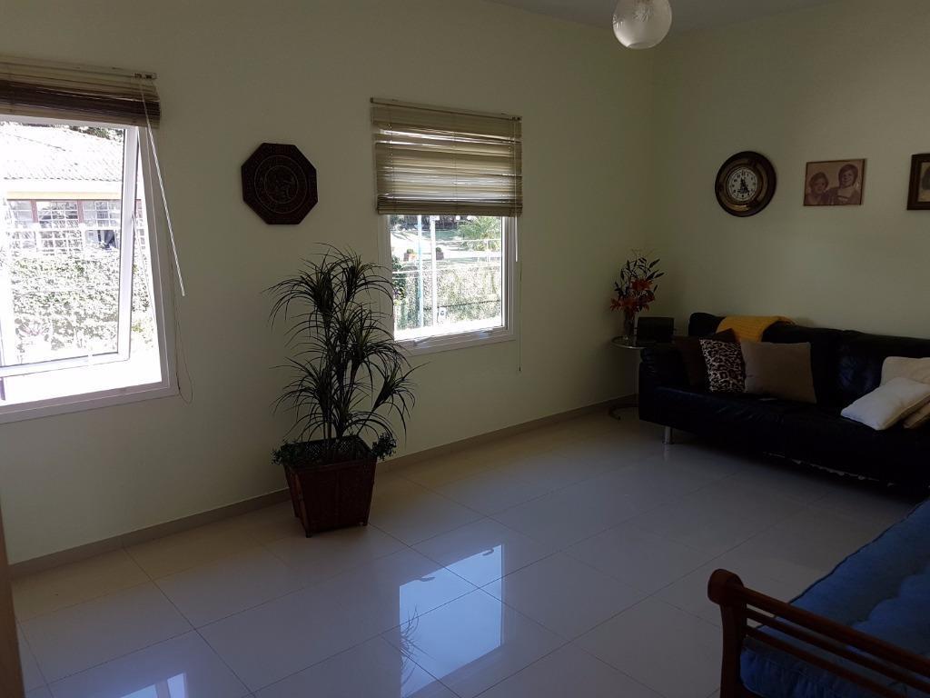 casa averbada e mobiliada com 1 suíte master com ampla sacada, 2 quartos, escritório, wc social,...