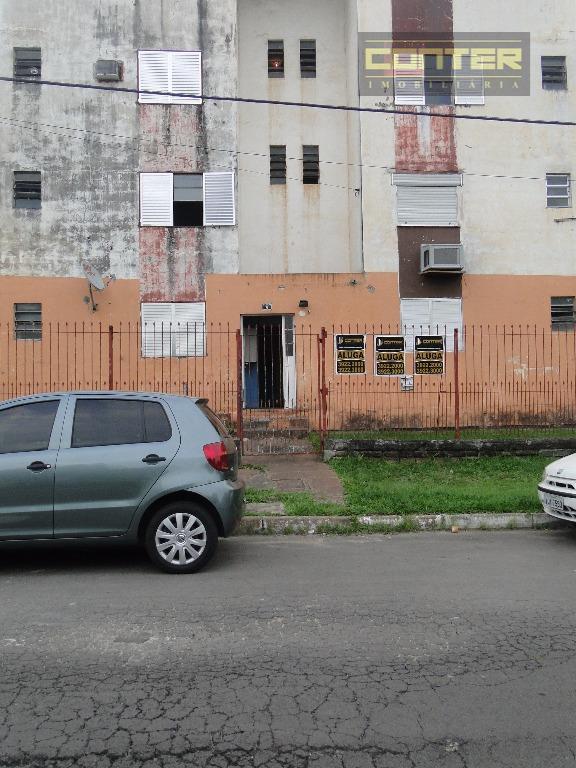 Apartamento  residencial para locação, Guajuviras, Canoas.