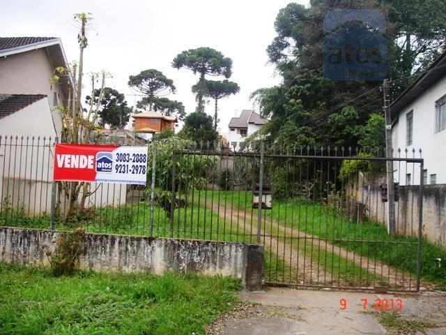 Terreno  residencial à venda, Bigorrilho, Curitiba.