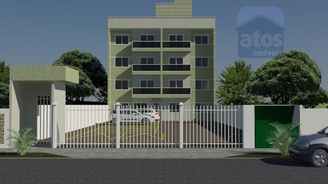 Apartamento residencial à venda, Parque da Fonte, São José dos Pinhais - AP0037.