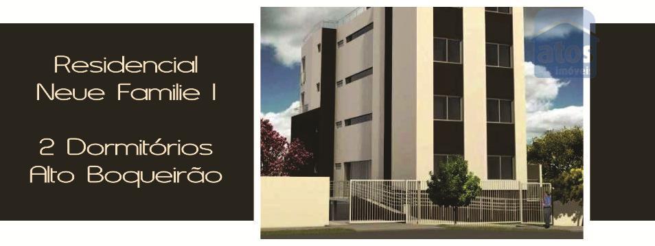 Apartamento  residencial à venda, Alto Boqueirão, Curitiba.