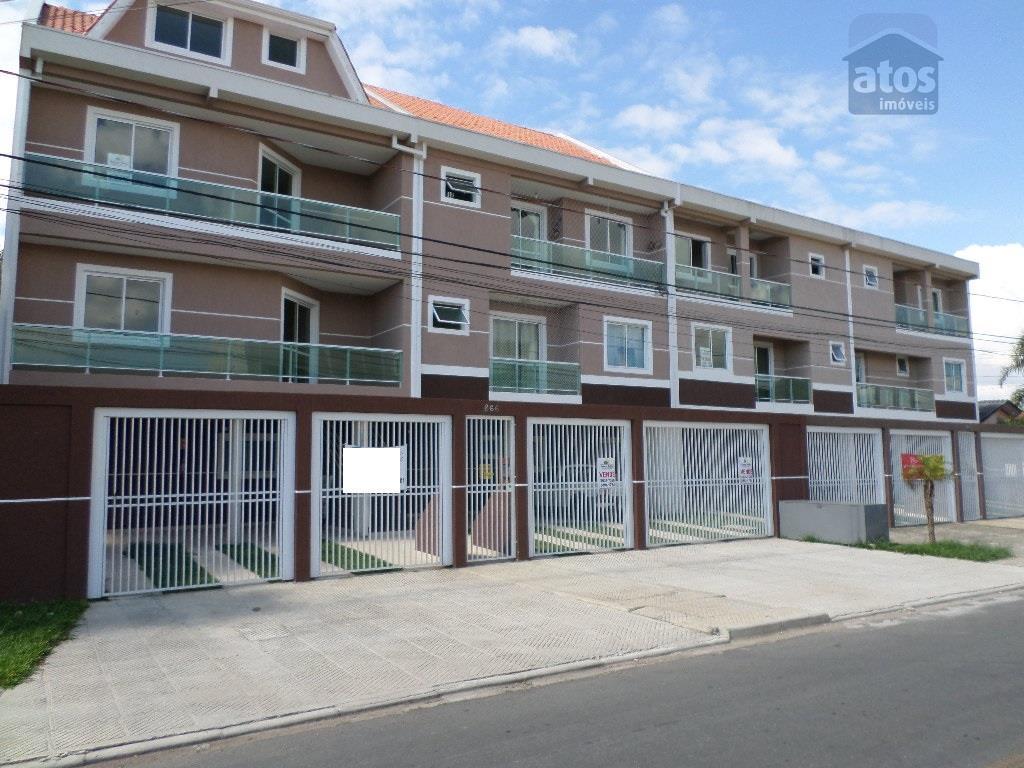 Apartamento residencial à venda, Cidade Jardim, São José dos Pinhais - AP0239.