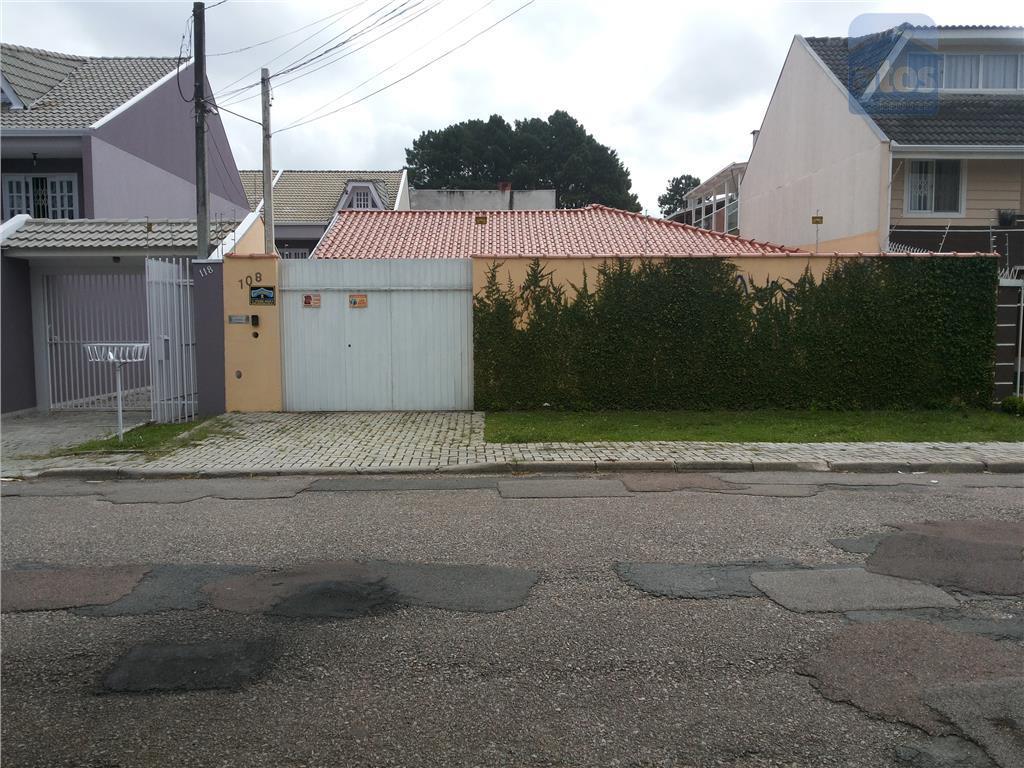 Casa Colonial à venda, Xaxim, Curitiba. Terreno com 432m²