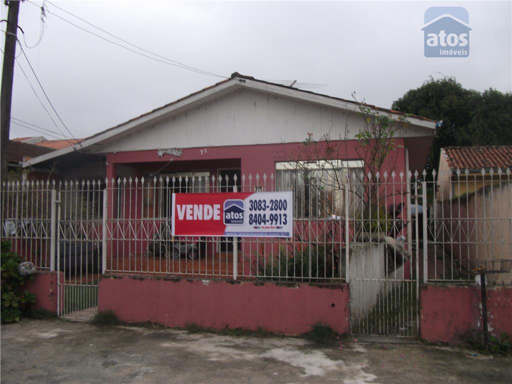 Casa residencial à venda, Xaxim, Curitiba - CA0123.