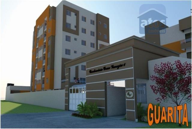 Apartamento residencial à venda, Bom Jesus, São José dos Pinhais.