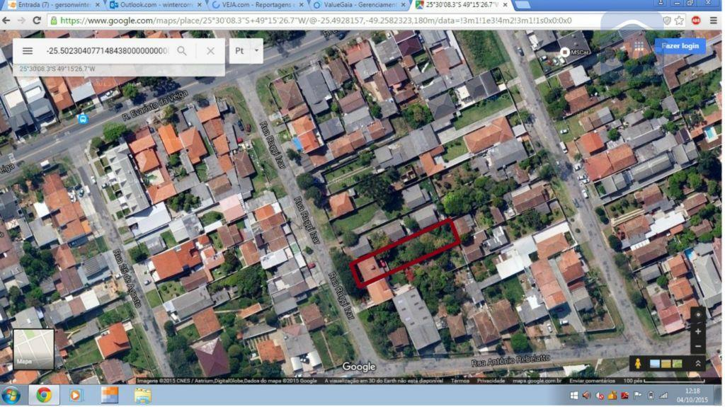 Casa residencial à venda, Boqueirão, Curitiba - CA0162.