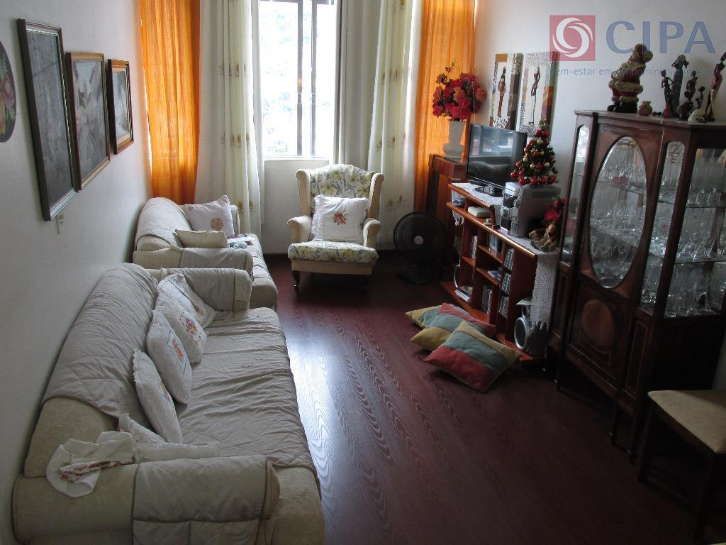 Apartamento residencial à venda, Grajaú, Rio de Janeiro.