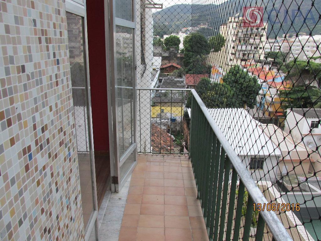 Vista lateral da varanda