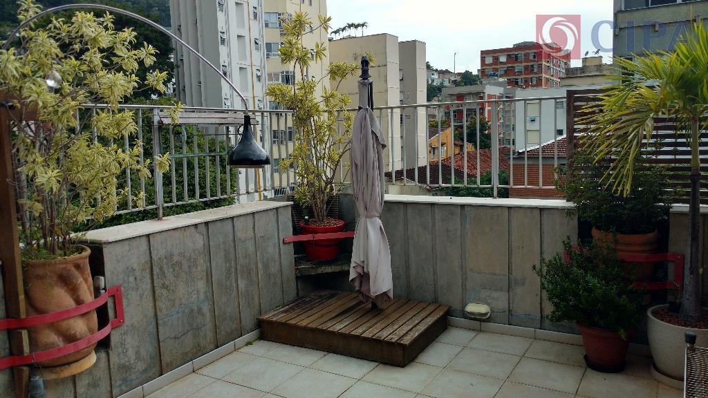 Apartamento Duplex residencial à venda, Jardim Botânico, Rio de Janeiro.