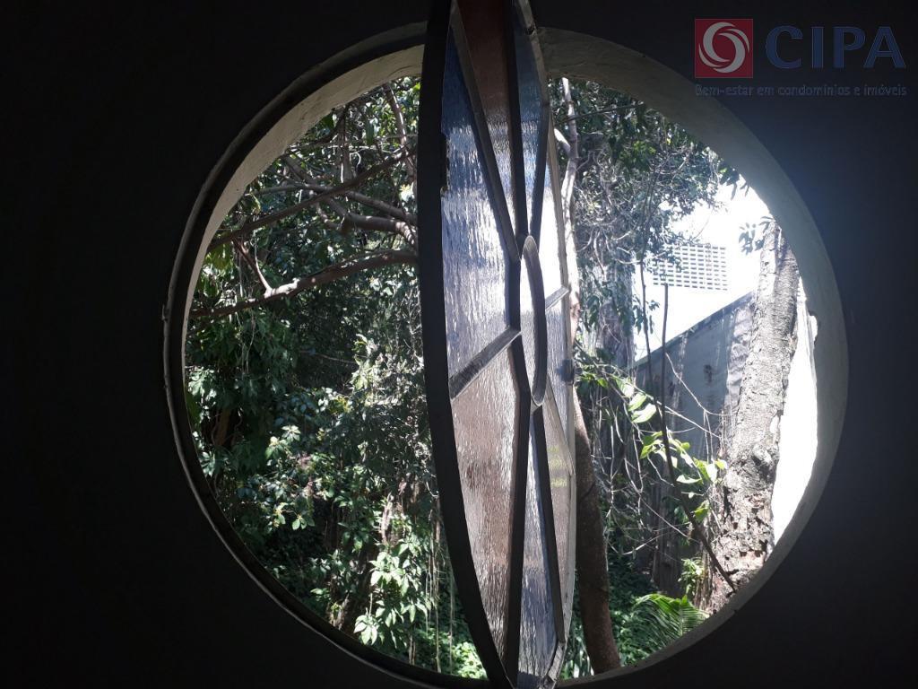 vista do quarto vitrô