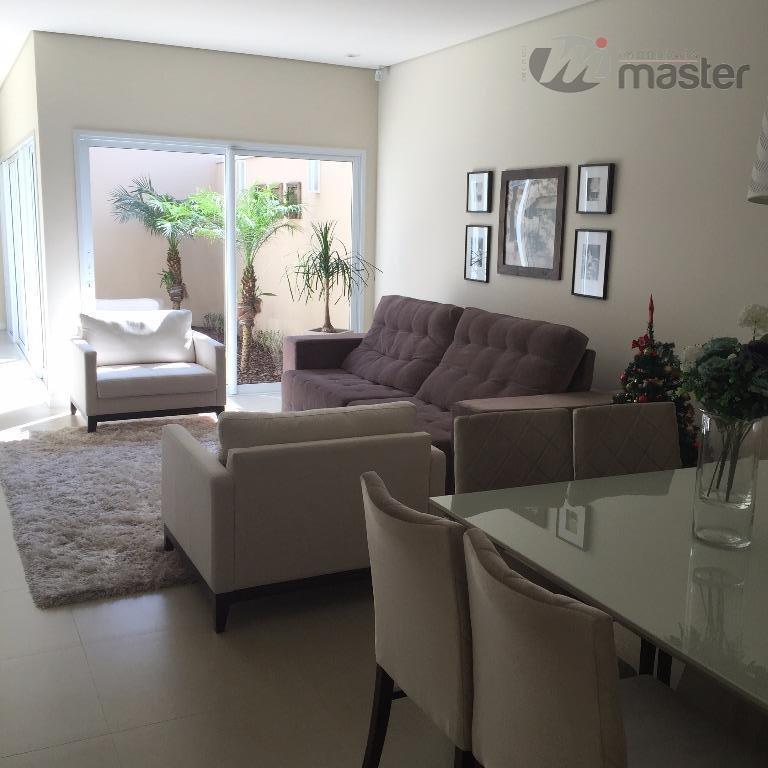 Casa residencial à venda, Loteamento Porto Fino, Rio Claro.