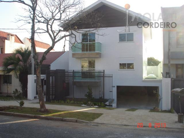 Apartamento  residencial para locação, Hugo Lange, Curitiba.