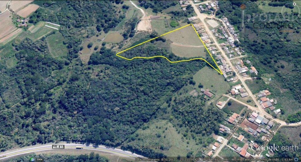 área de terreno com 23.187,57m², sito à rua manoel fernandes alves, 07 - bairro colônia lamenha...