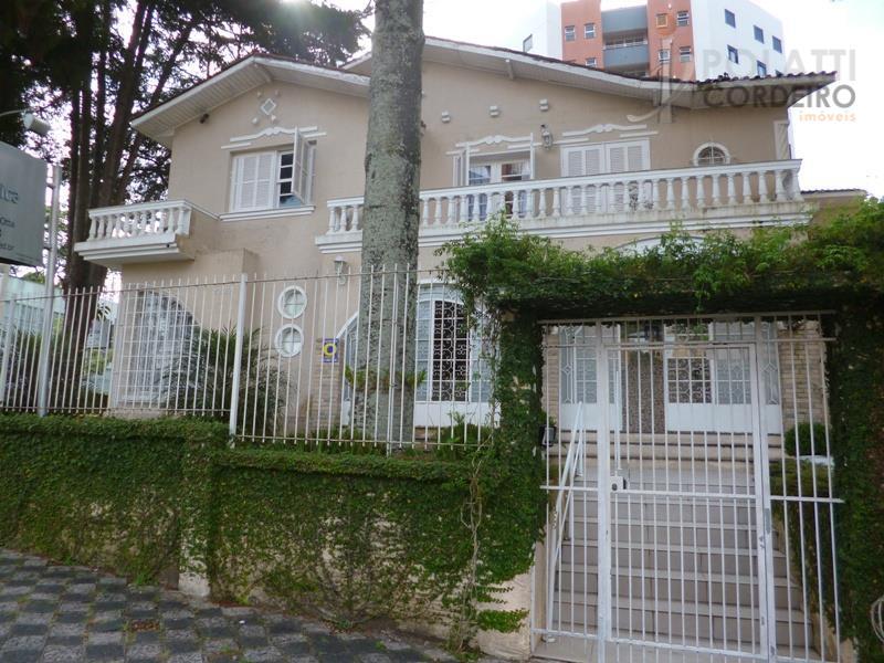 Casa  comercial para locação, Bigorrilho, Curitiba.