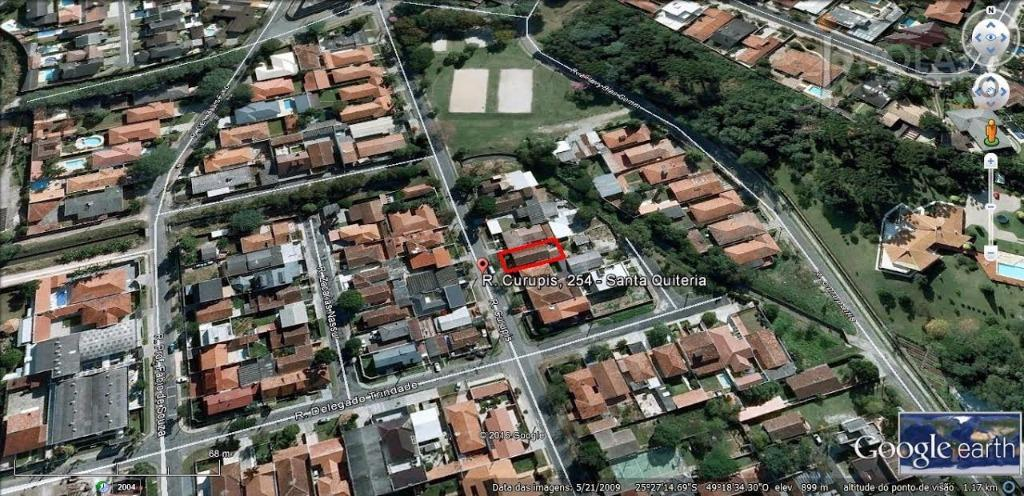 Terreno  residencial à venda, Santa Quitéria, Curitiba.