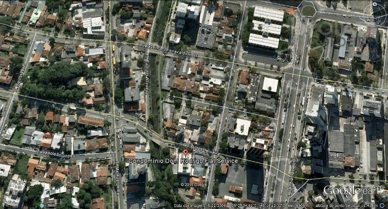 Apartamento  temporada para locação, Centro Cívico, Curitiba.
