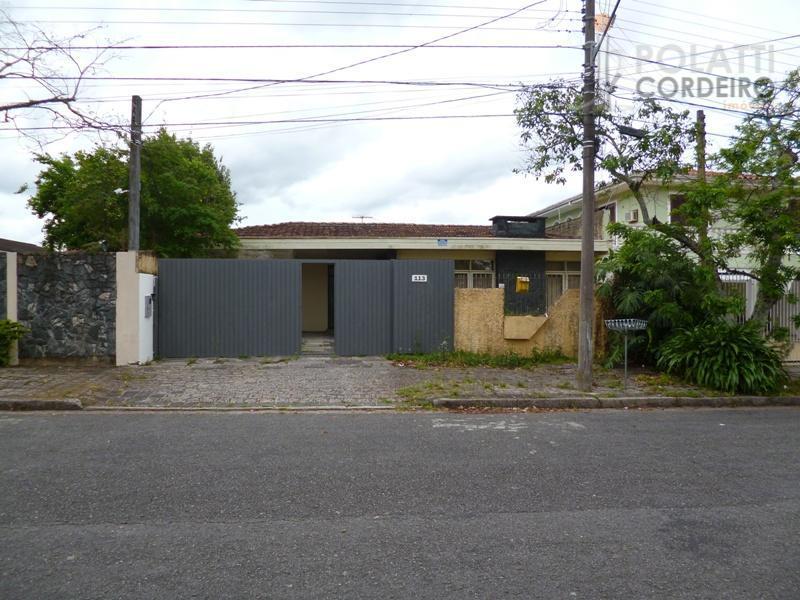 Casa  residencial para locação, Jardim Social, Curitiba.