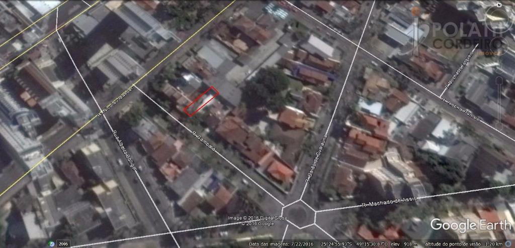 Terreno residencial à venda, Juvevê, Curitiba.