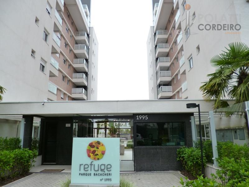 Apartamento residencial para locação, Bacacheri, Curitiba.