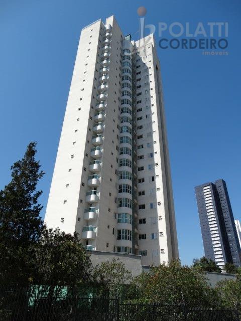 Belo imóvel com 180m² útil, andar alto, Mossunguê, Curitiba.