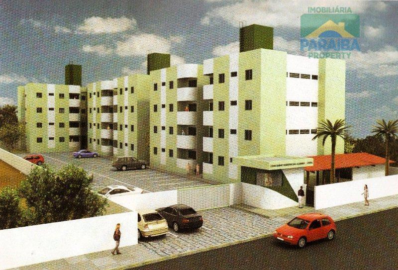 Apartamento residencial à venda, Jaguaribe, João Pessoa - AP0098.