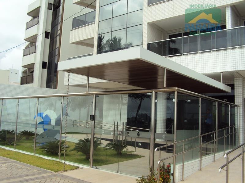 apartamento com 1 quarto, sala, cozinha, varanda com vista para o mar. prédio com área de...