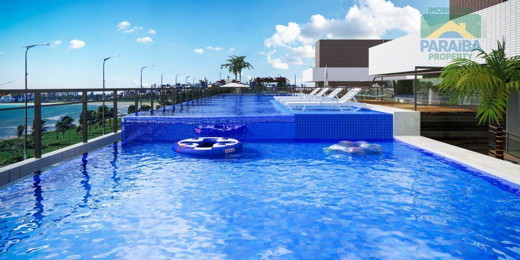 Apartamento residencial à venda, Intermares, Cabedelo - AP0296.