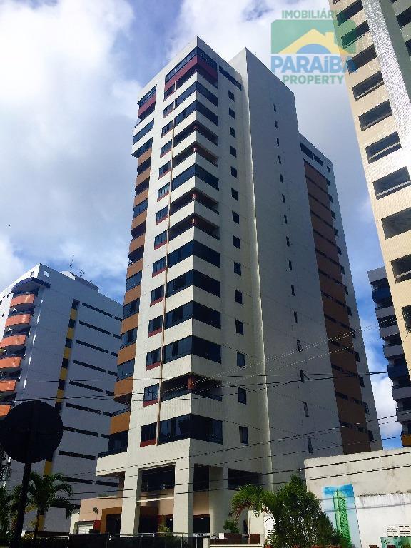 Apartamento residencial para locação, Tambaú, João Pessoa - AP0463.