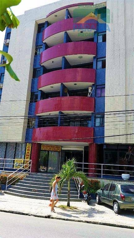 Apartamento residencial para locação, Cabo Branco, João Pessoa.