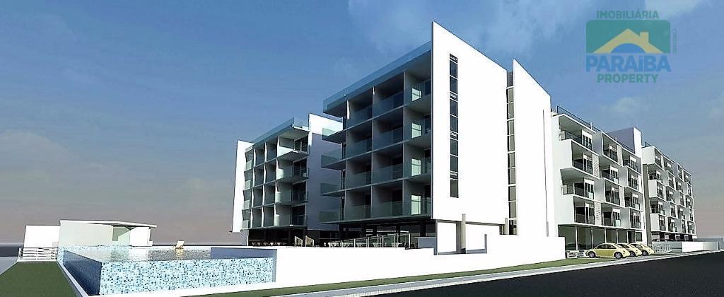 PRÉ-LANÇAMENTO - Apartamento residencial à venda, Cabo Branco, João Pessoa - AP0818.