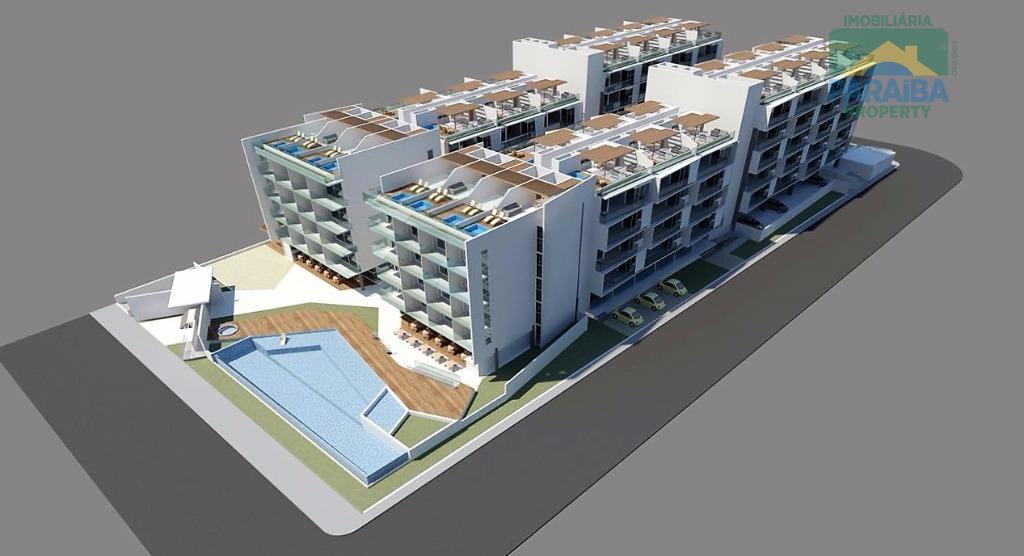 LANÇAMENTO - Apartamento residencial à venda FRENTE MAR, Cabo Branco, João Pessoa -