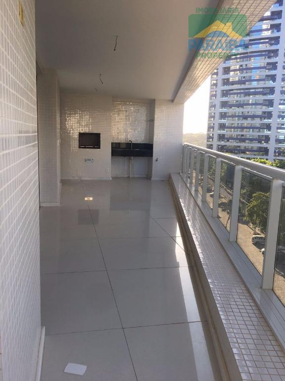 oportunidade alto padrão!apartamento com 4 suítes, varanda gourmet, sala para 2 ambientes, lavabo, cozinha, área de...