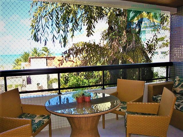 Apartamento VISTA MAR à Venda - Praia do  Cabo Branco - João Pessoa - PB