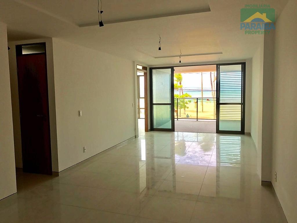 oportunidade!apartamento frente mar, vista definitiva com 2 suítes sendo 1 master com closet, sala com varanda...