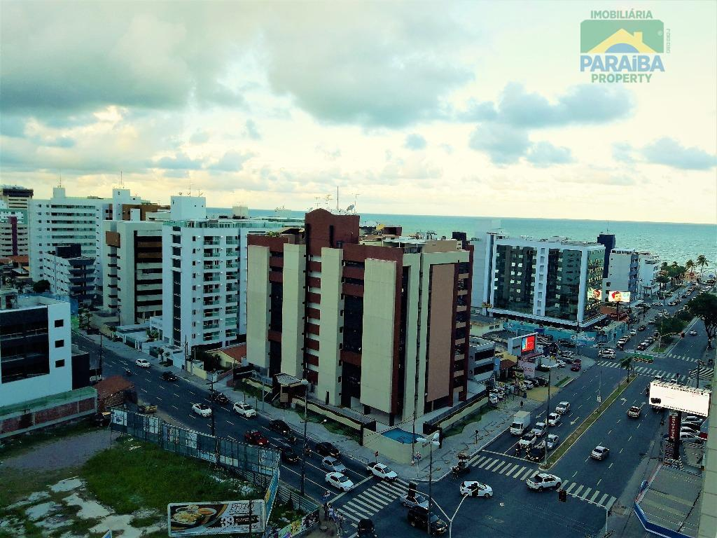 Apartamento residencial  à venda, Cabo Branco, João Pessoa - AP0950.