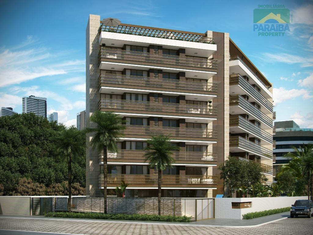 Apartamento LUXO à Venda - Praia do Cabo Branco -  João Pessoa - PB