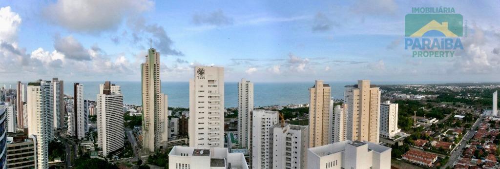 oportunidade!apartamento luxo vista mar em altiplanomobiliado e equipado.apartamento com 216m2 de área privativa. - 3 suítes,...