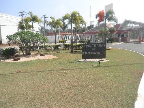 Terreno residencial à venda, Terras de Piracicaba, Piracicaba.